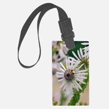 Berkheya purpurea and bee Luggage Tag