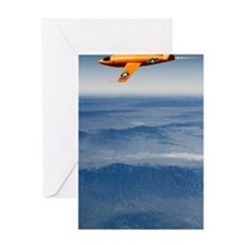 Bell X-1 supersonic aircraft Greeting Card