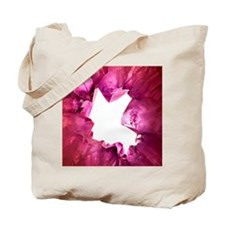 Amethyst crystals Tote Bag