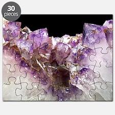 Amethyst crystals Puzzle
