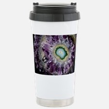 Amethyst and chalcedony Stainless Steel Travel Mug