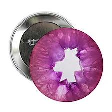 "Amethyst crystals 2.25"" Button"