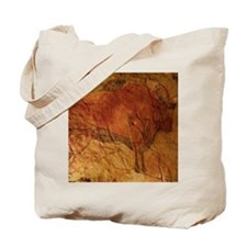 Altamira cave painting of a bison Tote Bag