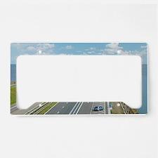 Afsluitdijk dike, Netherlands License Plate Holder