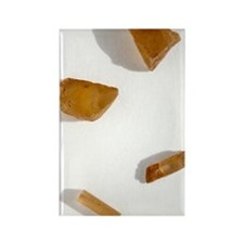 Bastnasite crystals Rectangle Magnet