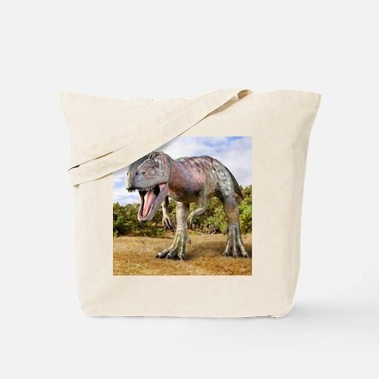 Allosaurus dinosaur, artwork Tote Bag