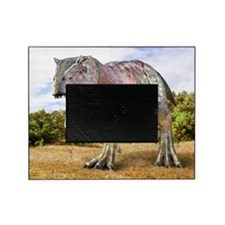 Allosaurus dinosaur, artwork Picture Frame