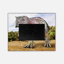 Allosaurus dinosaur, artwork Picture Frame