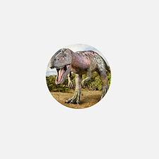 Allosaurus dinosaur, artwork Mini Button