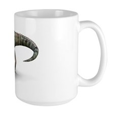 Allosaurus dinosaur, artwork Mug