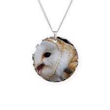 Barn owl calling Necklace