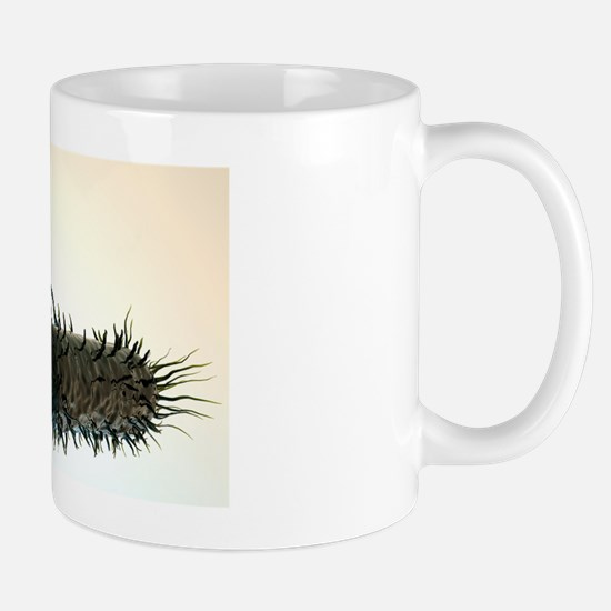 Bacterial conjugation, artwork Mug