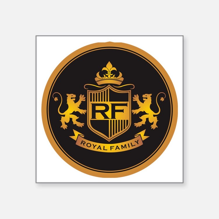 "royal family Square Sticker 3"" x 3"""