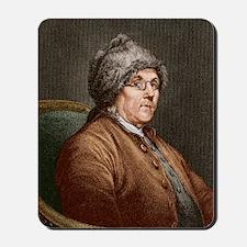 Benjamin Franklin (1706-90) Mousepad