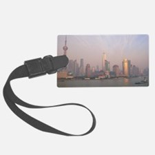 Air pollution over Shanghai, Chi Luggage Tag