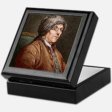 Benjamin Franklin (1706-90) Keepsake Box