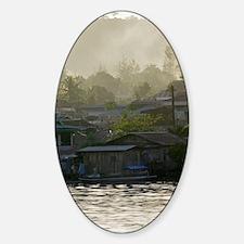 Air pollution Sticker (Oval)
