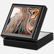 Agate slice Keepsake Box