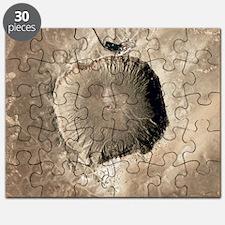 Barringer Crater, Arizona Puzzle