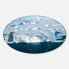Aerial view of Rothera Station, Ant Decal
