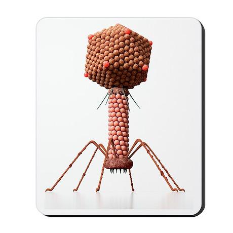 Bacteriophage, artwork Mousepad