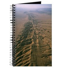 Aerial photo of San Andreas fault Journal