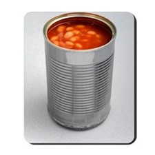 Baked beans in a can Mousepad