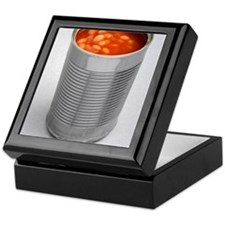 Baked beans in a can Keepsake Box