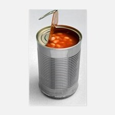 Baked beans in a can Decal