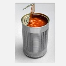 Baked beans in a can Postcards (Package of 8)