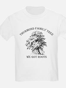 Thurmond Family Tree Kids T-Shirt