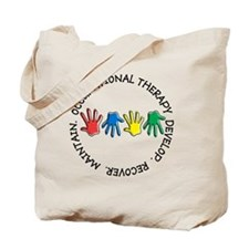OT CIRCLE HANDS 2 Tote Bag