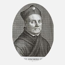 Athanasius Kircher, German scholar Oval Ornament