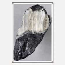 Asbestos mineral Banner