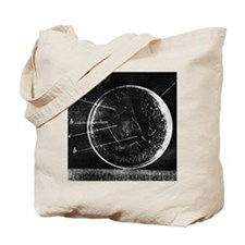 Antibiotic action, historical image Tote Bag