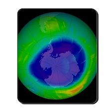 Antarctic ozone hole, 2009 Mousepad