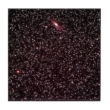 Andromeda Galaxy Tile Coaster