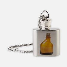 Antique smelling salts bottle Flask Necklace