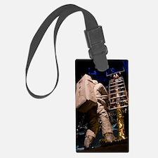 Apollo Moon landing museum diora Luggage Tag