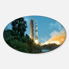 Apollo 16 rocket launch Decal