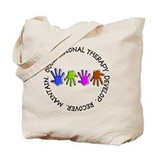 OT CIRCLE Hands Tote Bag