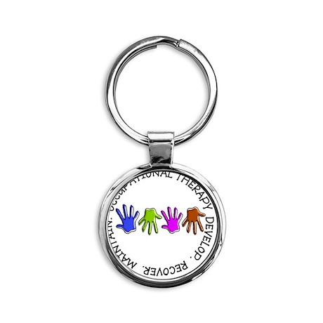 OT CIRCLE Hands Round Keychain