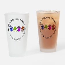 OT CIRCLE Hands Drinking Glass