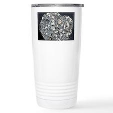 Anorthite in andesite Travel Mug