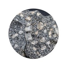 """Anorthite in andesite 3.5"""" Button"""