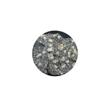 Anorthite in andesite Mini Button