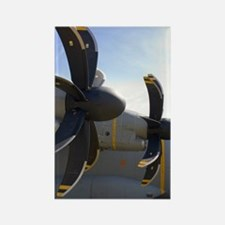 Aircraft propellers Rectangle Magnet