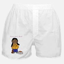 Smart Girls Rock Boxer Shorts