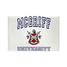 MCGRIFF University Rectangle Magnet