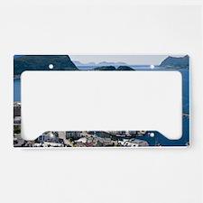 Alesund, Norway License Plate Holder